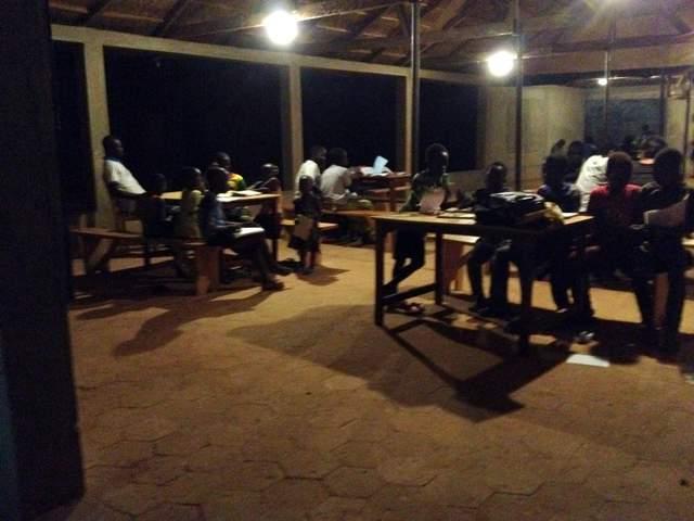 sala studi la sera - 1