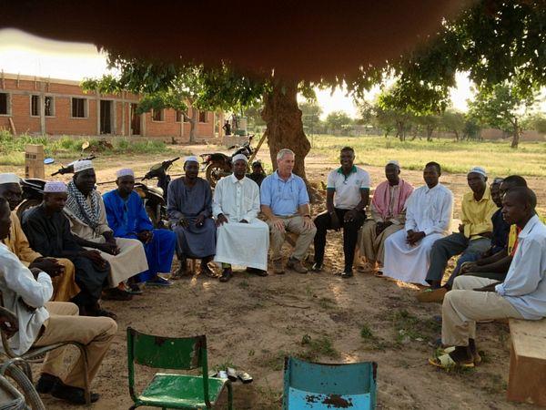 riunione con gli Imam