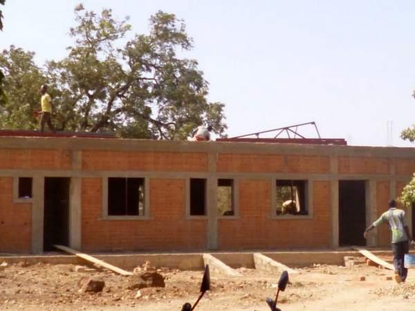 Montaggio del tetto