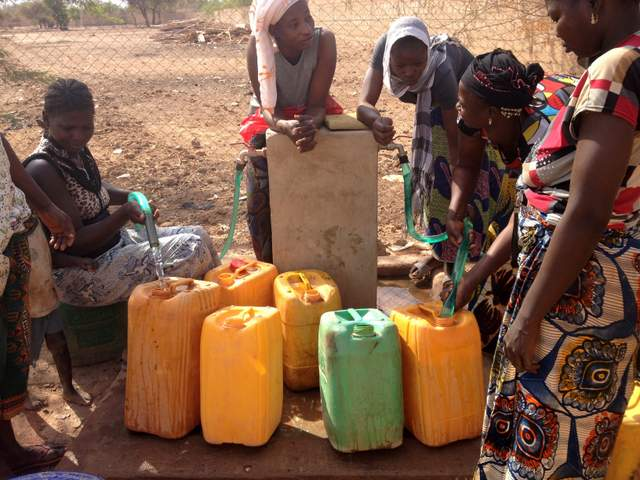 distribuzione dell\'acqua
