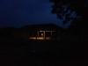 .... nel buio completo del quartiere .....
